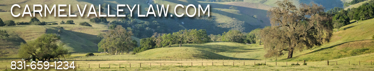 Carmel Valley Law